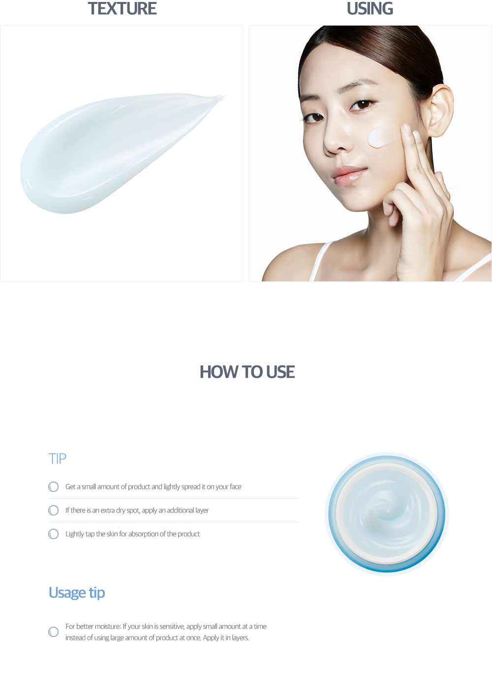 [ klavuu ] BLUE PEARLSATION ONEDAY 8CUPS MARINE COLLAGEN AQUA CREAM (CREAM 50ML)