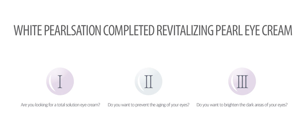 [ klavuu ] WHITE PEARLSATION Completed Revitalizing Pearl Eye Cream (Eye Cream, 20ml )